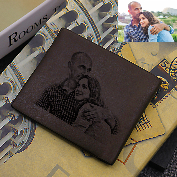 Double-Sided Photo Ultra Thin Men's Wallet