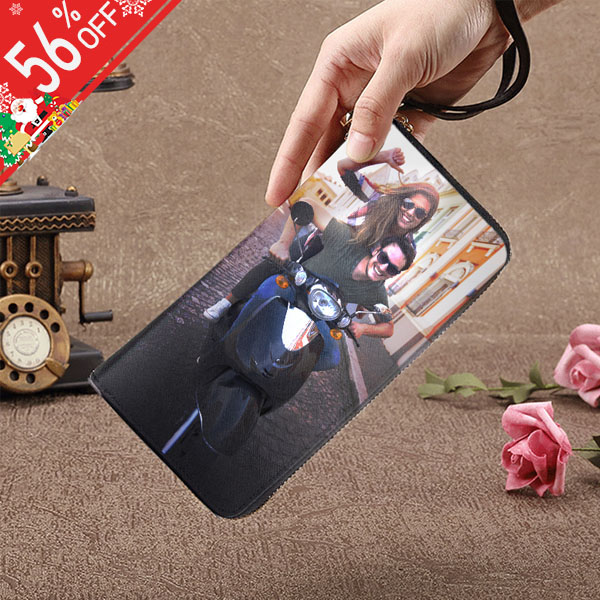 Personalized Photo Genuine Leather Women's Wallet